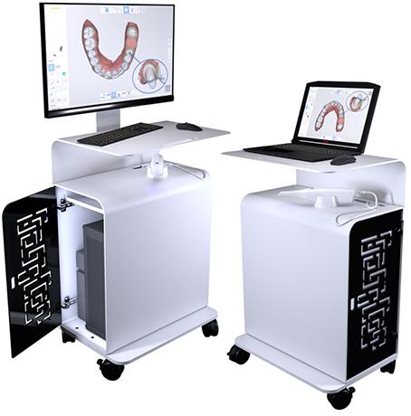 chariot-1-medit-i700-scanner-intra-oral-camera-empreinte-optique